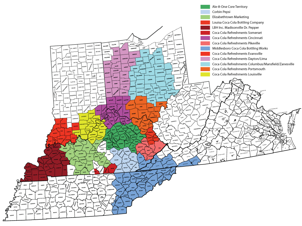 Ale-8-One Distribution Map