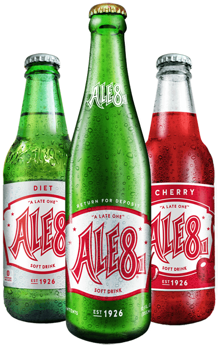 Ale-8-One Bottles
