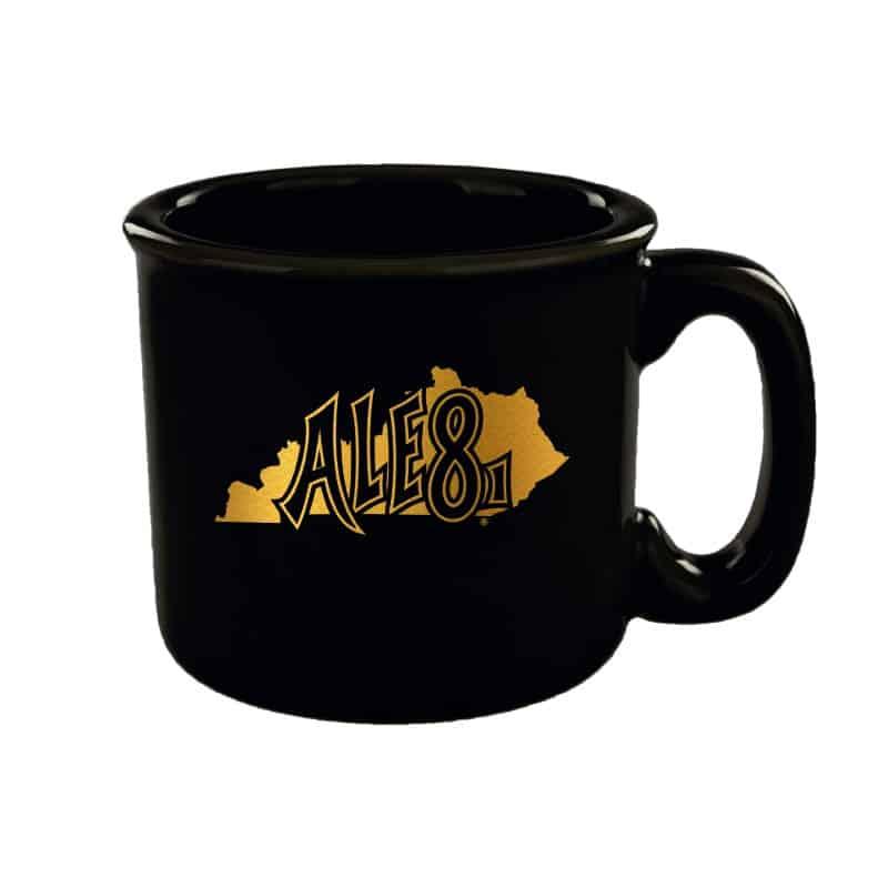 Black and Gold Campfire Mug